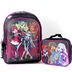 monster high school backpack lunch measurement