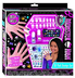 monster high nail design includes enamel