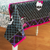 monster high paper tablecover party includes