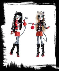 Buy Action Figure Doll 2PACK Gift Set Werecat