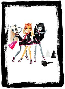 Buy Exclusive Monster High 3PACK Fearleading