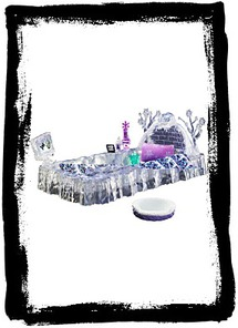 Buy Monster High Abbeys Ice Bed Playset