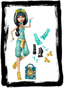 Buy Monster High Cleo De Nile Doll And Shoe