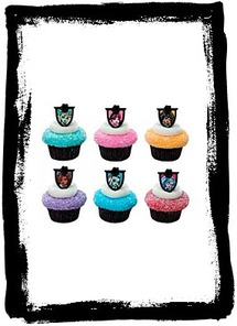 Buy Monster High Fear Friends Cupcake Rings