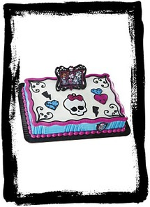 Monster High Frame And Skullette Deco