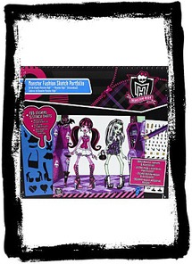 Monster High Full Size Sketch Portfolio