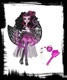 Buy Monster High Ghouls Rule Draculaura Doll