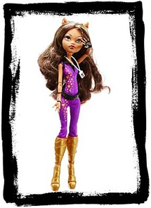 Monster High Music Festival Doll Clawdeen