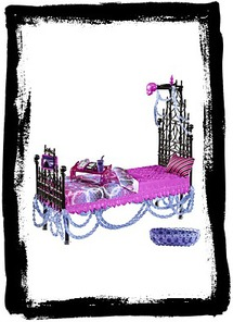 Monster High Spectra Vondergeist Bed