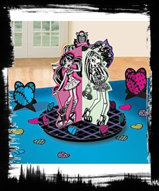 Monster High Table Decorating Kit