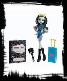 Buy Monster High Travel Scaris Frankie Stein