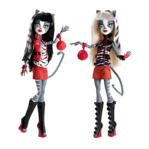 Action Figure Doll 2PACK Gift Set Werecat